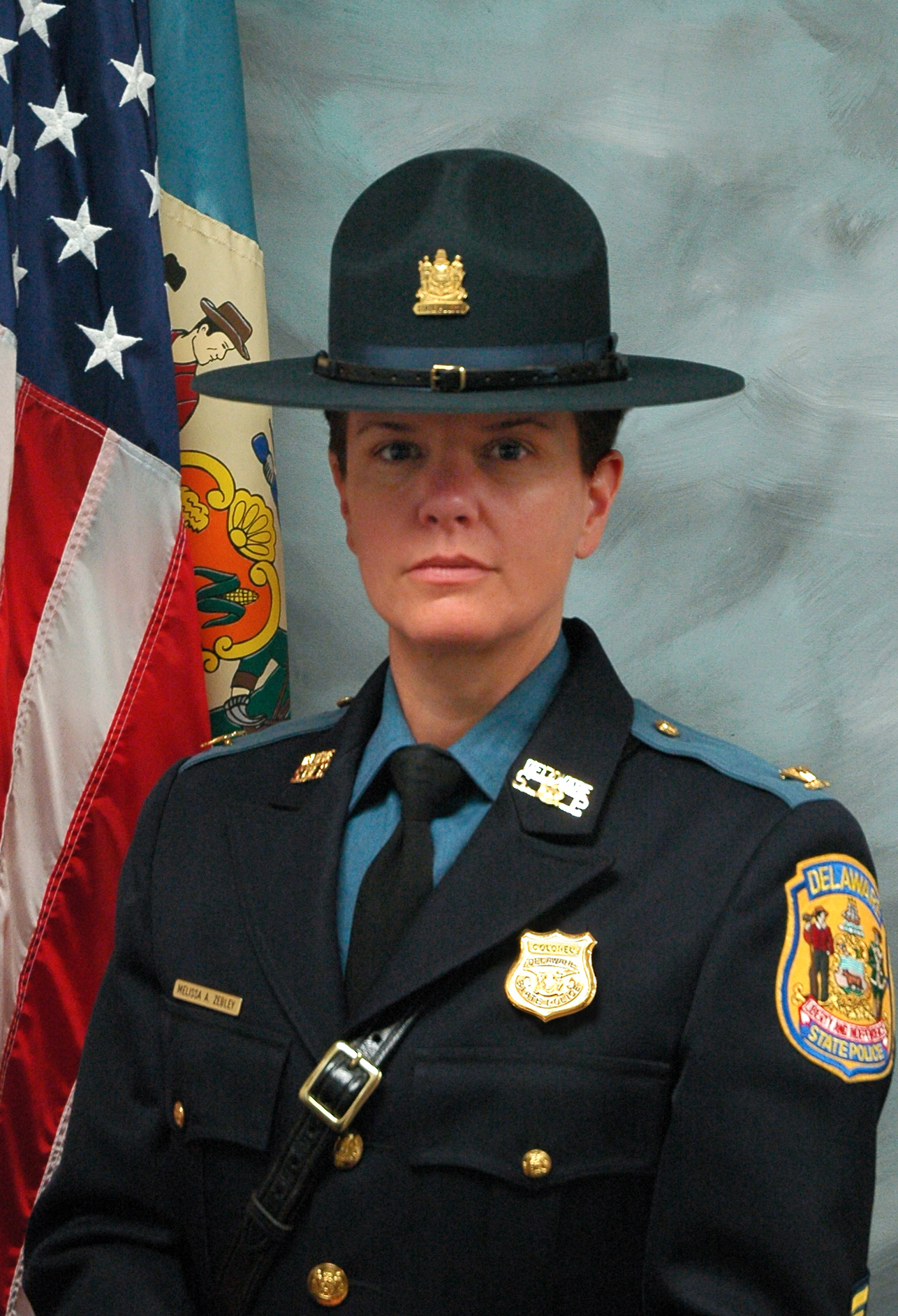 A photo of Colonel Melissa Zebley
