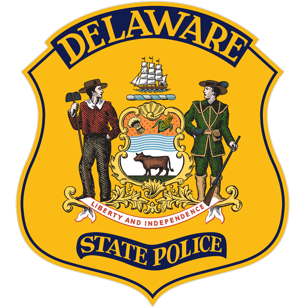 Image of the Delaware Delaware State Police Badge