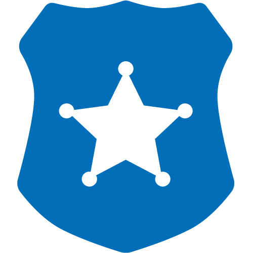 Icon of a Police Badge