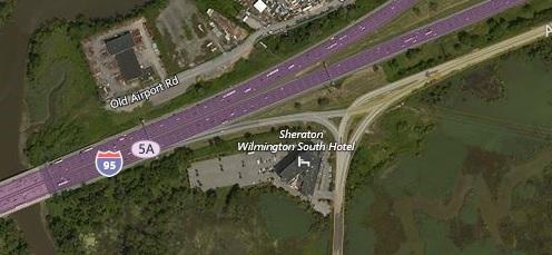 I-95 at Airport rd.