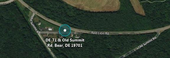 DE 71 at Old Summit