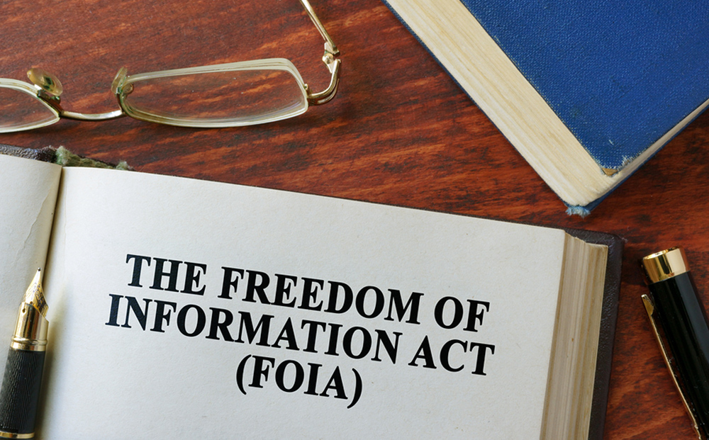 Freedom of Information Act (FOIA) artwork