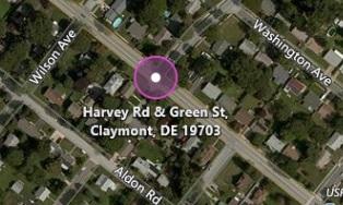 Harvey Rd. at Green St.