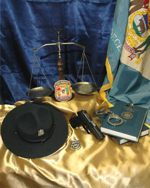 Photo of scales and hat