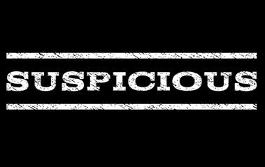 Suspicious Activity Text