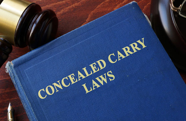 A book on concealed carry laws.