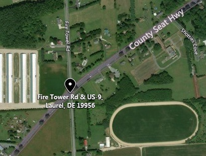 Fire Tower Rd. at US 9