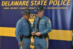 Delaware State Police Announce 2018 Trooper and Civilian