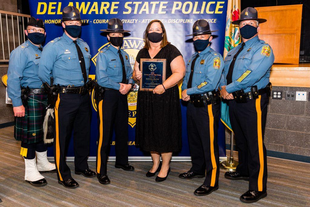 2020 Civilian of the Year, Rhonda Davis